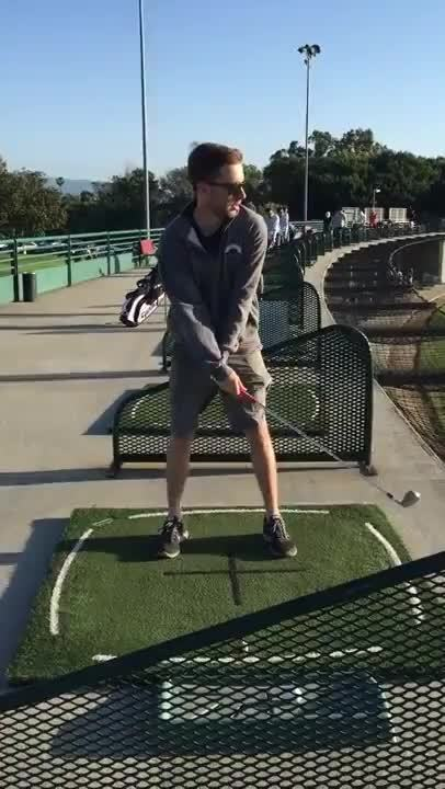 golf, golfing, sports, Hey guys/girls! I was hoping you guys could tell me what you think of my swing! GIFs