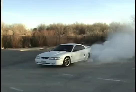 Watch and share Burnout GIFs and Mustang GIFs on Gfycat