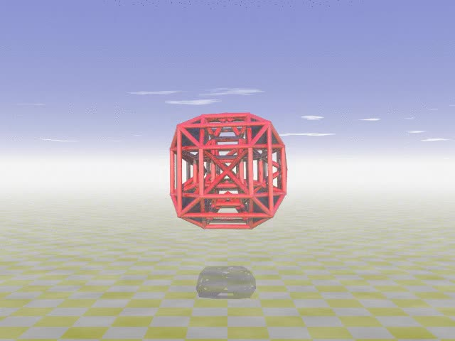 Watch Octa-augmented runcinated tesseract GIF by Stéphane Lambert (@slambert) on Gfycat. Discover more 4D, geometry, povray, tesseract GIFs on Gfycat