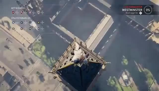 Assassin's Creed Syndicate Big Ben Leap of faith