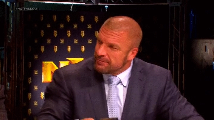 SquaredCircle, lefthanging, Renee Young gets denied by Triple H (reddit) GIFs