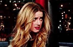Watch this amber heard GIF on Gfycat. Discover more **, 2014, amber heard, interview, late show with david letterman GIFs on Gfycat