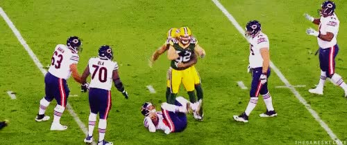 Watch and share Clay Matthews GIFs on Gfycat