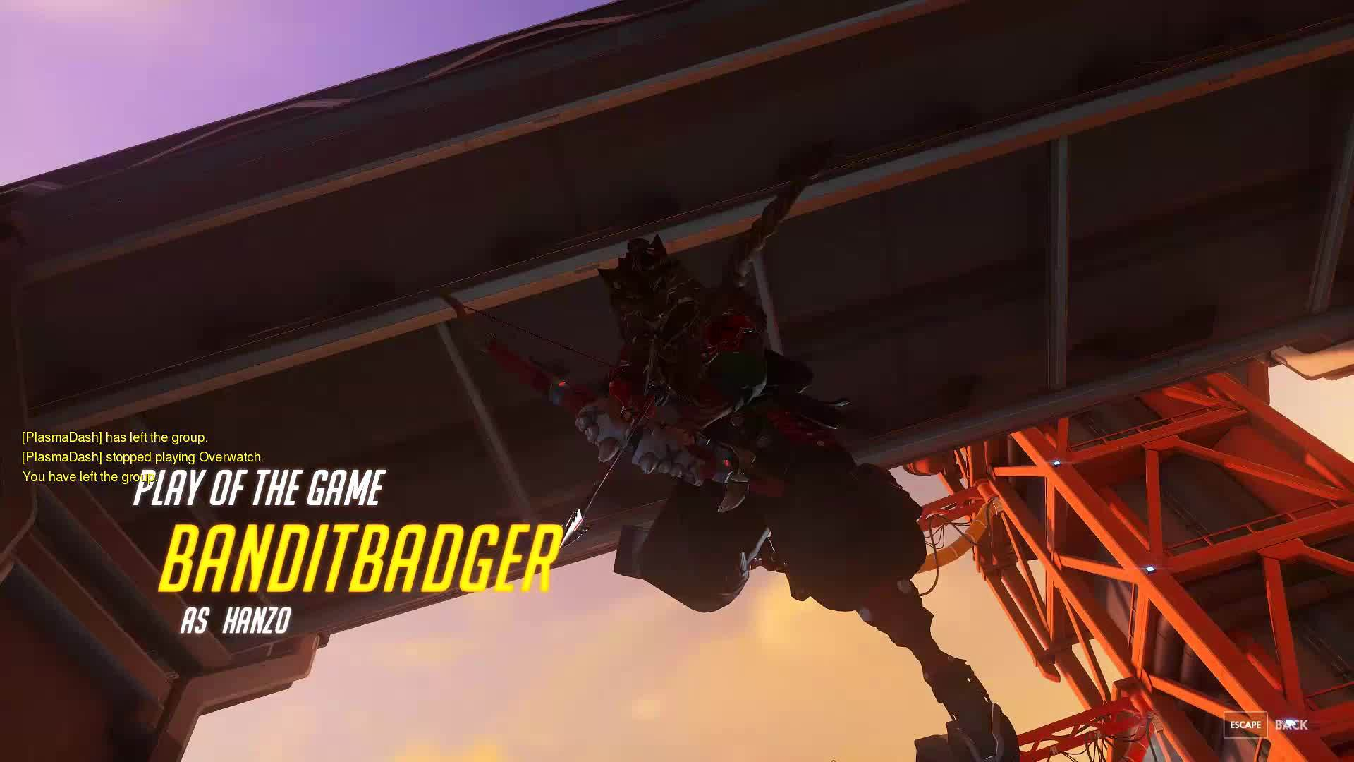 overwatch, Overwatch: Hanzo Play of the Game GIFs