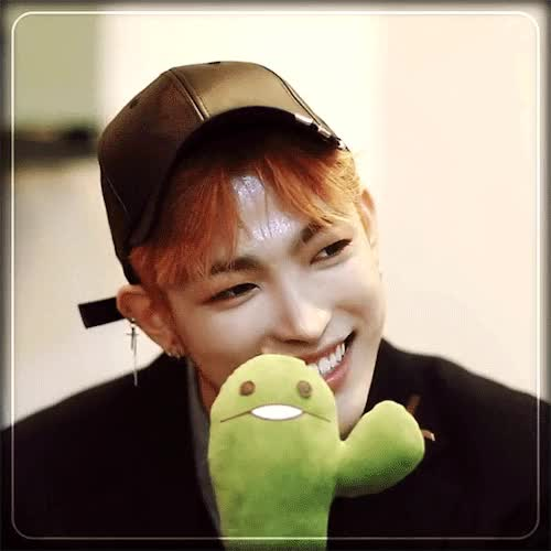 Watch and share Hongjoong GIFs and Adorable GIFs by 하지마.. on Gfycat