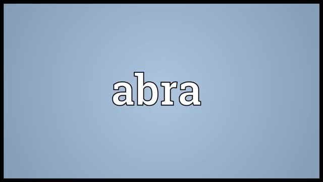Watch and share Abra Pronunciation GIFs and Abra Definition GIFs on Gfycat