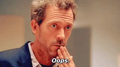 Watch MY BAD GIF on Gfycat. Discover more hugh laurie GIFs on Gfycat