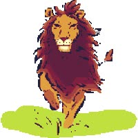 Watch lion GIF on Gfycat. Discover more related GIFs on Gfycat