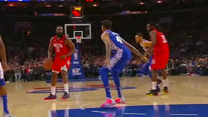 Watch and share James Harden And Kenneth Faried — Houston Rockets GIFs by Off-Hand on Gfycat