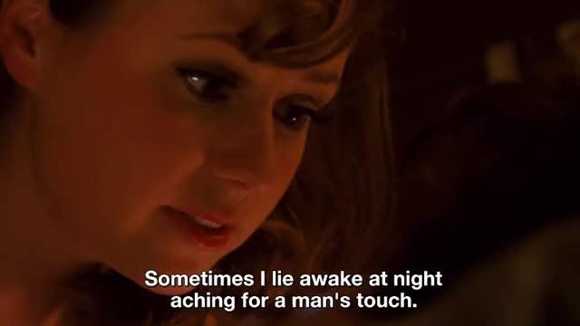 Sometimes I lie awake at night aching for a man's touch. And by