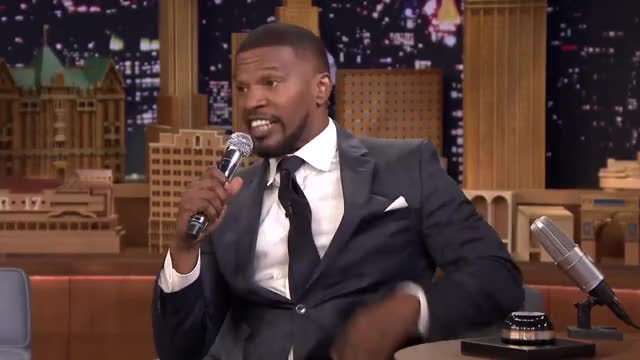 Watch and share The Tonight Show GIFs and Jamie Foxx GIFs on Gfycat