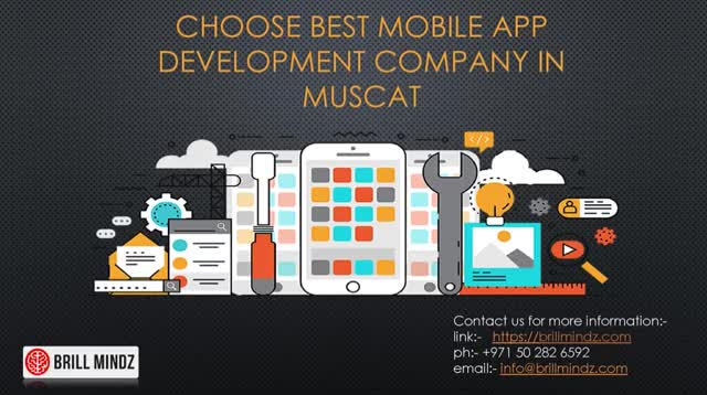 Watch and share Best Mobile Apps Development Company In Muscat GIFs by Brill Mindz Technologies on Gfycat