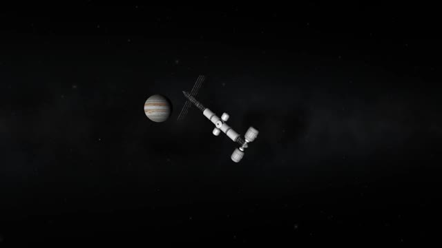 Watch and share Komnenon Flying Past Jupiter GIFs by spraymon on Gfycat