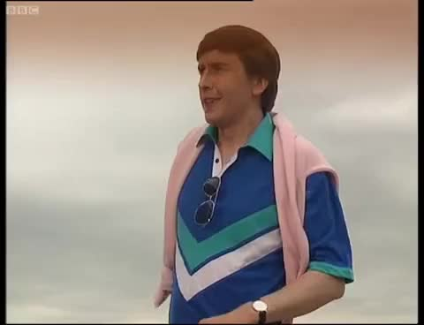 Watch and share Alan's Fashion Line - A Partridge In Paris - Knowing Me Knowing You - BBC GIFs on Gfycat
