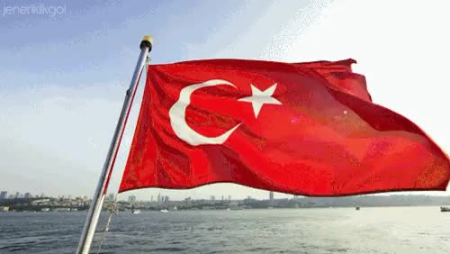 Watch and share Türk BayraäŸä± GIFs and Turkis Flag GIFs on Gfycat