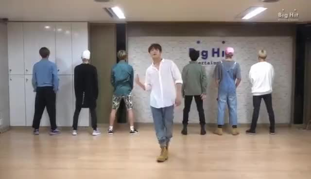 Watch and share 방탄소년단(BTS) '좋아요 Part 2' Dance Practice GIFs on Gfycat