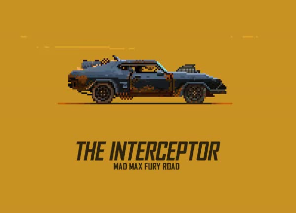 Watch and share 8-bit GIFs Of Mad Max: Fury Road Vehicles Make Us Want A Retro Game GIFs on Gfycat