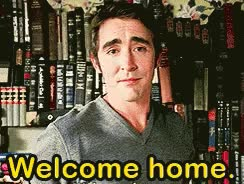 Watch and share Welcome Home GIFs on Gfycat