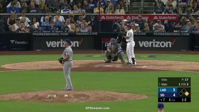 Watch and share Los Angeles Dodgers GIFs and San Diego Padres GIFs by spstreamer on Gfycat