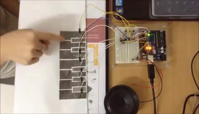 Watch and share DIY Piano With Arduino GIFs on Gfycat