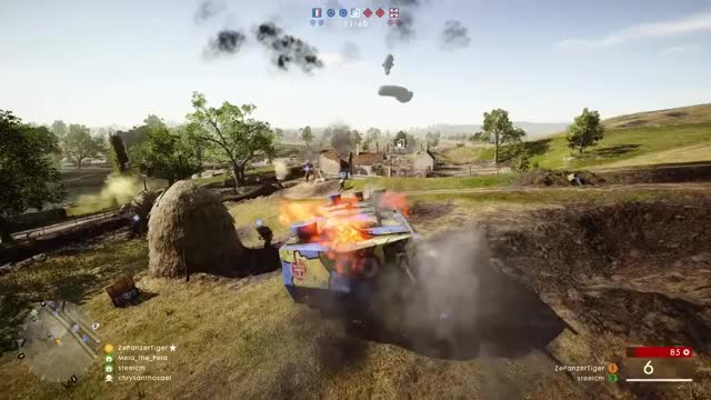 Watch and share Sniping In France! - Battlefield 1 GIFs on Gfycat