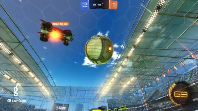 Watch Goal 4: Takanashi Rikka GIF by Gif Your Game (@gifyourgame) on Gfycat. Discover more Gif Your Game, GifYourGame, Goal, Rocket League, RocketLeague, Takanashi Rikka GIFs on Gfycat