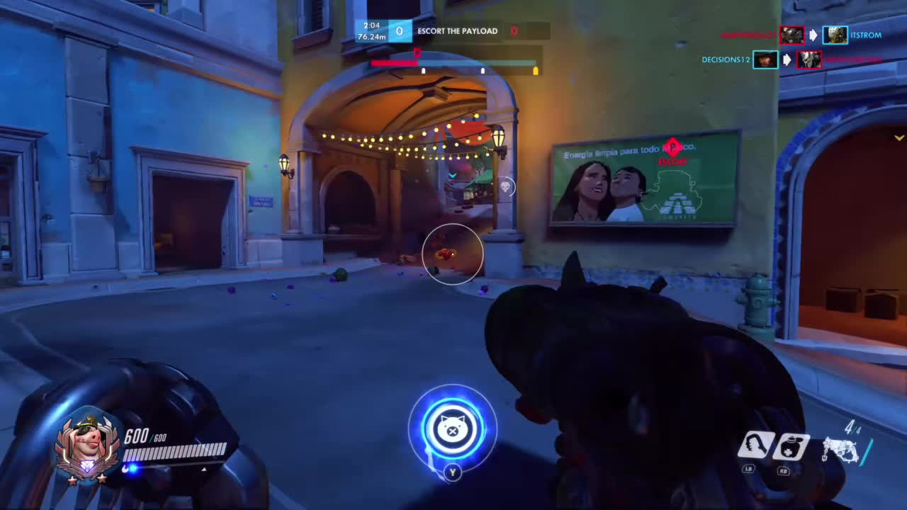 OWConsole, Overwatch, And people say crouching is useless in Overwatch GIFs