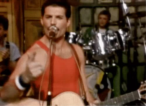 Watch this trending GIF on Gfycat. Discover more freddie mercury GIFs on Gfycat