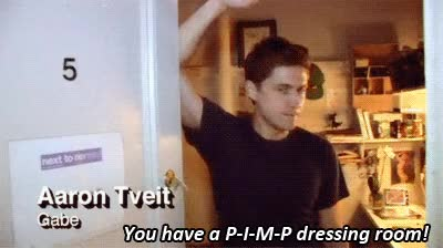 Watch Aaron Tveit GIF on Gfycat. Discover more related GIFs on Gfycat