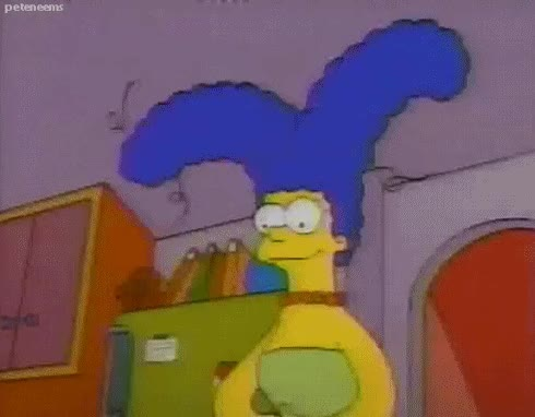 Watch marge simpson GIF on Gfycat. Discover more related GIFs on Gfycat