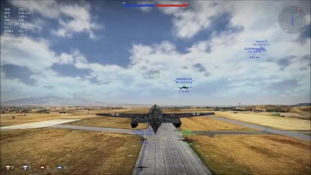 War Thunder] The legendary German Air Force (reddit) GIF by
