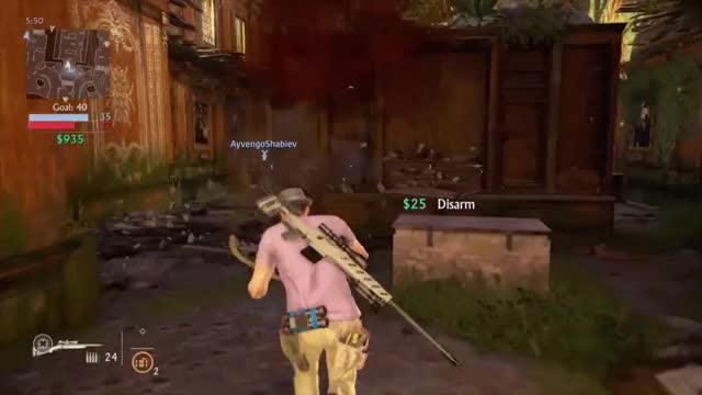 Who needs a scope anyway? Uncharted 4
