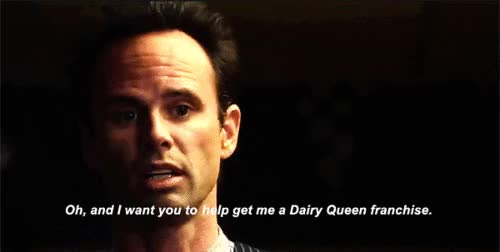 Watch and share Walton Goggins GIFs on Gfycat