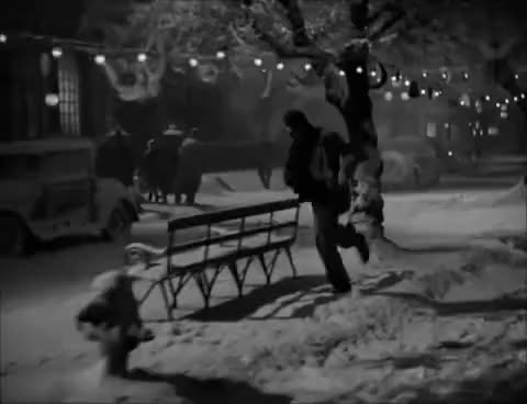 Watch and share Merry Christmas Bedford Falls GIFs on Gfycat