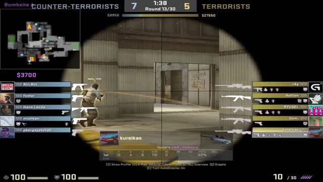Watch and share Cache Heaven Wallbang GIFs on Gfycat
