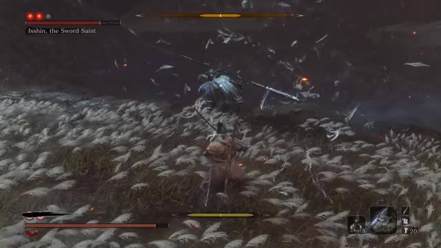Watch and share Sword Saint GIFs and Sekiro GIFs by queckquack on Gfycat