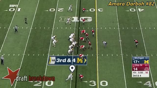 Watch and share Amara Darboh (Michigan WR) Vs Ohio State 2016 GIFs on Gfycat