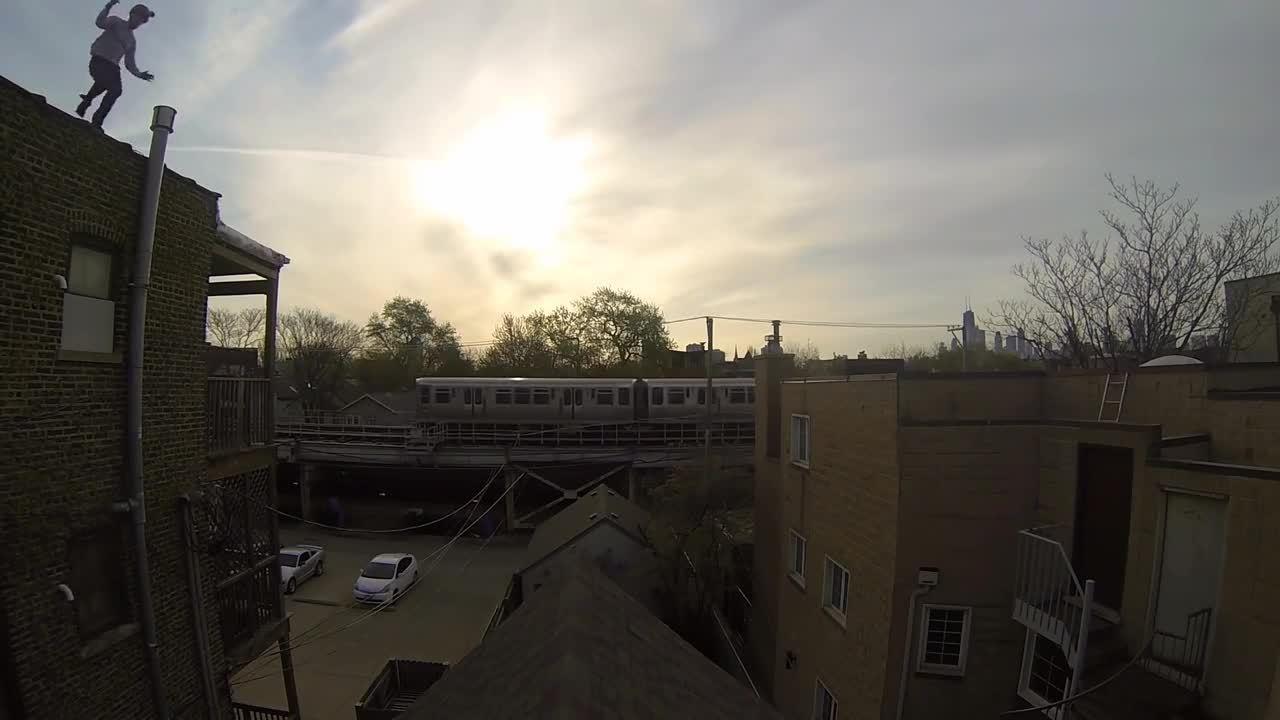 GoPro, Hero 2, Hero 3, GoPro: Epic Roof Jump GIFs