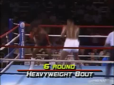 Watch Mike Tyson u-roll to slip under right hand. www.SugarBoxing.com GIF by @sugarboxing on Gfycat. Discover more related GIFs on Gfycat
