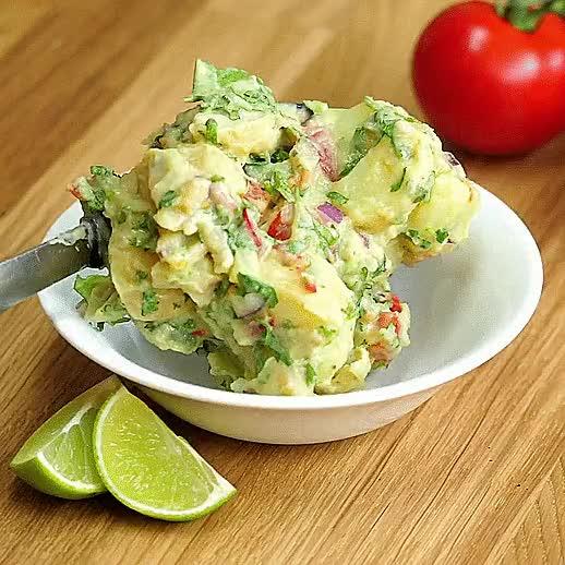 Watch and share Guacamole Potato Salad GIFs on Gfycat