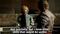 Watch and share Tyrion Lannister GIFs and Game Of Thrones GIFs on Gfycat