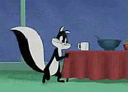 Watch and share 2Penelope Pussycat Kisses Pepe Le Pew ★ Looney Tunes GIFs on Gfycat