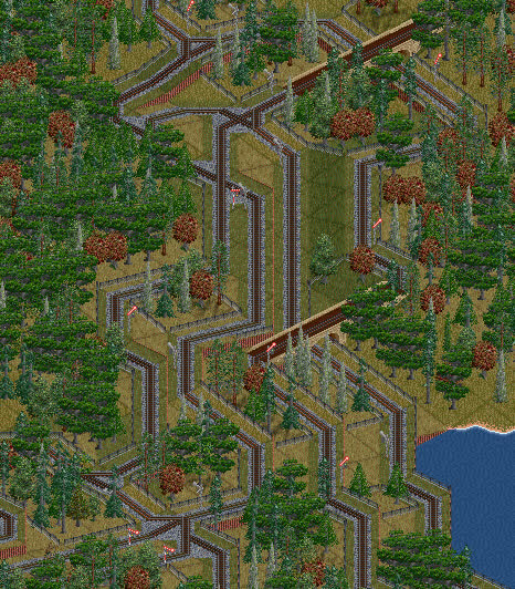 OpenTTD, train, trains, OpenTTD Coastal Trains GIFs