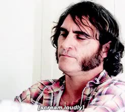 Watch and share Joaquin Phoenix GIFs and Screaming GIFs on Gfycat