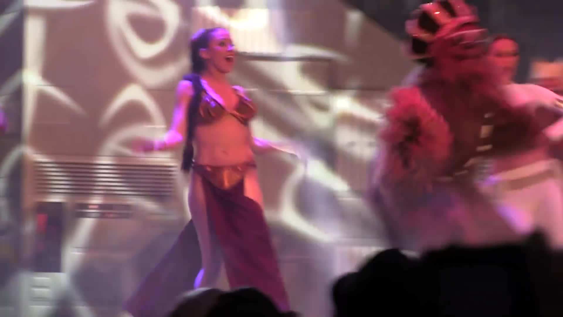 Bad, Full Dance-Off With the Star Wars Stars 2013 during Hyperspace Hoopla at Walt Disney World GIFs