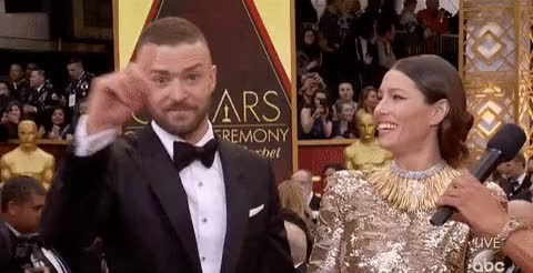 Watch and share Justin Timberlake GIFs and Jessica Biel GIFs on Gfycat