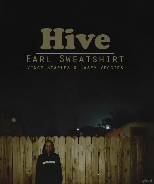 Watch this GIF on Gfycat. Discover more casey veggies, earl, earl sweatshirt, gif, hive, mv, odd future, ofwgkta, vince staples GIFs on Gfycat