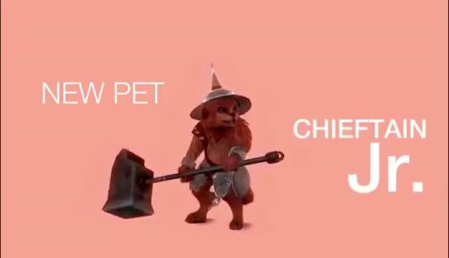 Vindictus Gnoll Chieftain Pet GIFs