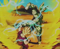 Watch and share Dragon Ball Z GIFs and Gohan GIFs on Gfycat