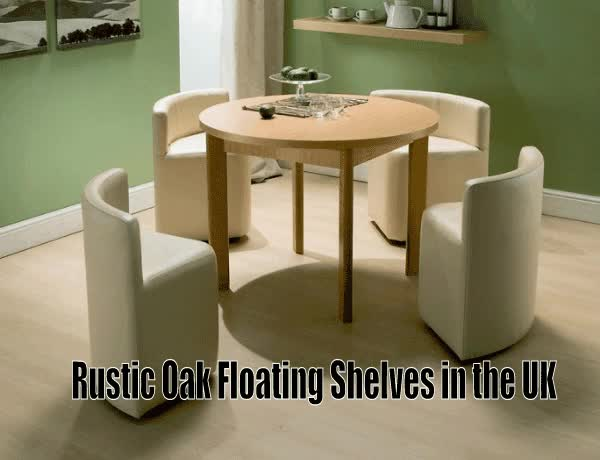 Watch and share Rustic Oak Floating Shelves And Tables In The UK GIFs by Wood N Wax on Gfycat